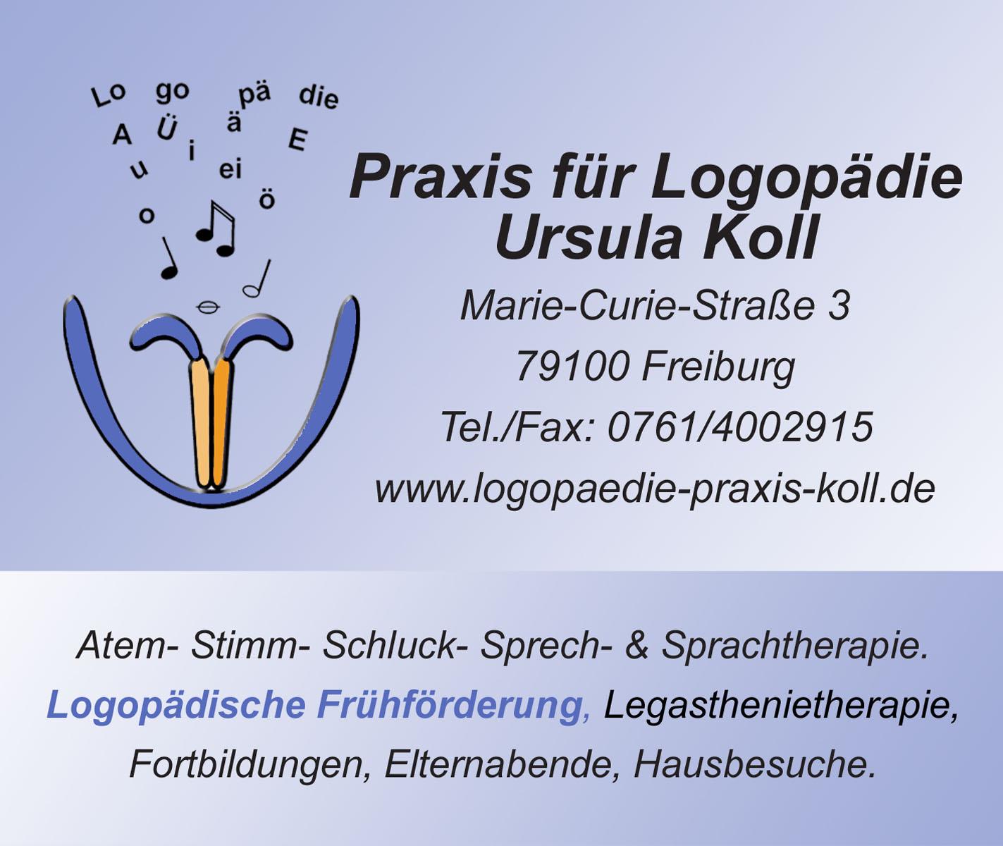 Praxis für Logopädie, Ursula Koll