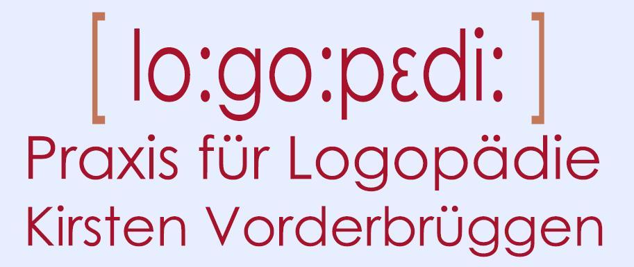 Praxis für Logopädie Kirsten Vorderbrüggen