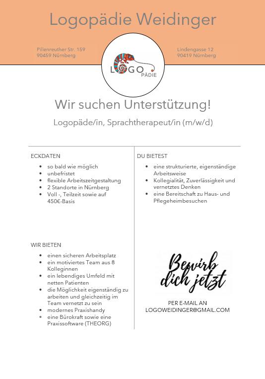 Logopädie Weidinger