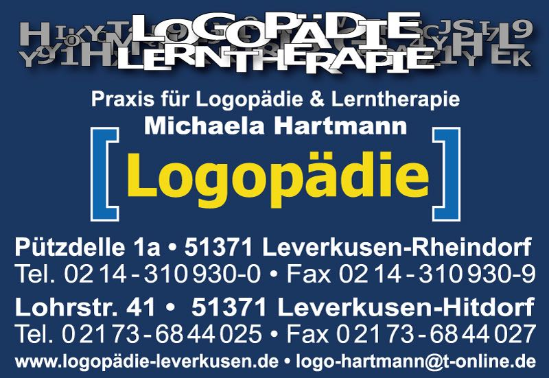 Praxis für Logopädie & Lerntherapie Michaela Hartmann